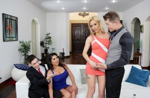 Open minded wife Zoey Portland swaps husbands with her best friend