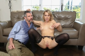 Cum hungry Zoey Monroe pissing and suck two cocks for a mouthful in hot 3some 25185272