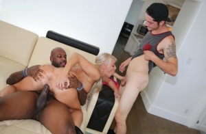Mature women swap cum after fucking black men in front of their sons 42184823