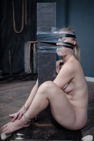 White girl Riley Reyes is tied up and tortured in a dungeon setting 55835116