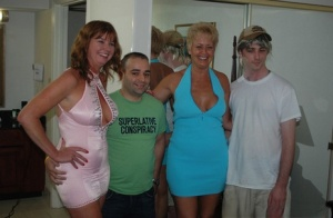 Mature friends engage in steamy hot groupsex at swingers hookup