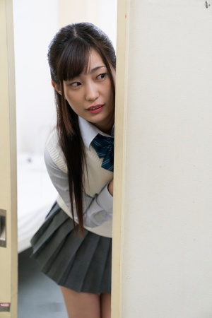 Lusty Japanese schoolgirl blows off her teacher and swallows his cum