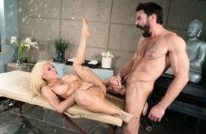 Big titted Latina female Luna Star gets banged by her massage attendant