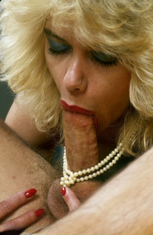 Wonderful wife in stockings gets her pierced vagina filled with a nice bone
