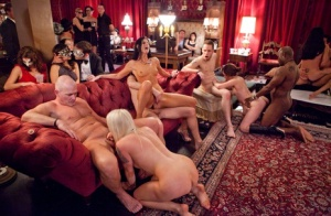 Swingers party is chock full of horny chicks that just like to fuck