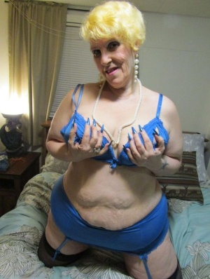 Fat nan Bunny Gram smokes in her pretties before pleasing a dick POV style 35686635