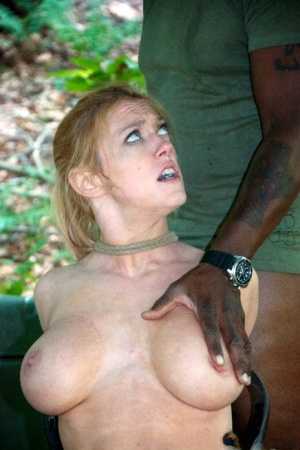 Sex slaves Darling  Hazel Hypnotic are rendered helpless out in the woods