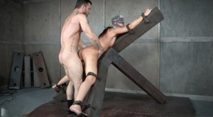 India Summer gets flogged and fucked while partaking in breathe play