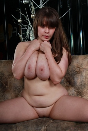 Chubby girl Georgina Gee unleashes her huge boobs as she makes her nude debut 73064573