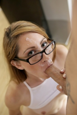 Student Nina Skye gets a pussy lick from her tutor and sucks his hard cocl 27644711