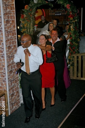New bride celebrates by sucking cock at the wedding reception 28792361