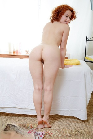 Cute redhead Jenny goes pussy to mouth after being massaged 35182989