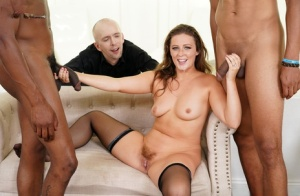 PAWG has sex with black men while her cucked husband watches 11619938