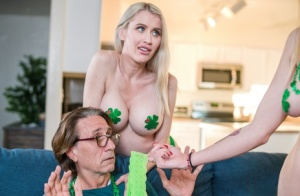 St Paddys Day gets spicy when close family members partake in a foursome