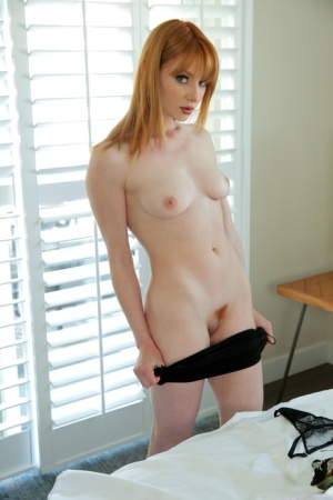 Teen lesbians Lacy Lennon  Aiden Ashley finish up by grinding twats together