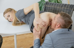 Skinny blonde student engages in rough sex with her tutor 79378780