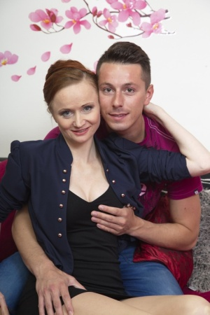 Mature redhead cheats on her cheating husband with her toy boy