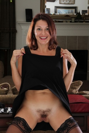 Amateur mature wife Ava Austin decided to show her hairy twat in front of cam 76514770