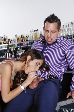 August Ames banging with a stranger and getting fully pleased
