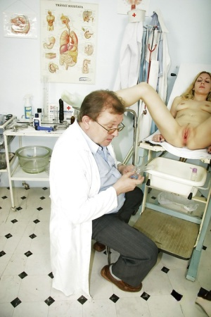 Smiley chick Sam visited a doctor to check out her wet pussy 62496300