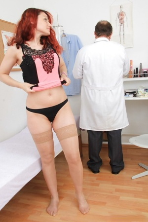 Cute Beatrix loves to have a fingering action with fetish doctor 29935535
