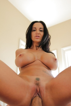 Hardcore ass fucking session with an European brunette Ava Addams