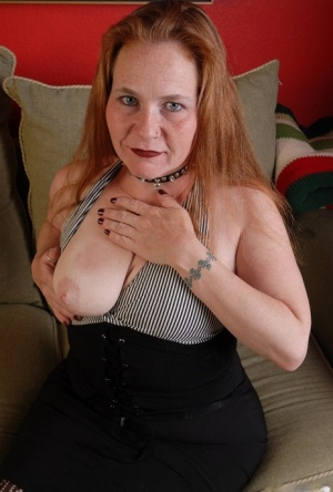 Stunning granny Spicy is trying to lick her lovely hard nipples 38862935