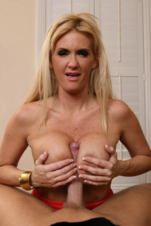 Hot MILF with big hooters Rhyse Richards gets hardcore ass fucked