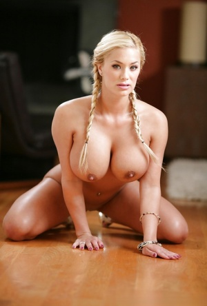 Milf with big tits Shyla Stylez likes bending over in front of camera