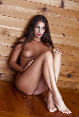 Secret sexual passion of centerfold brunette Lia Taylor gets exposed