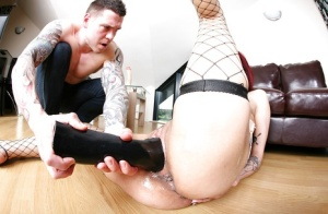 Mature lady Mai Bailey gets her anus fisted beyond normal limits