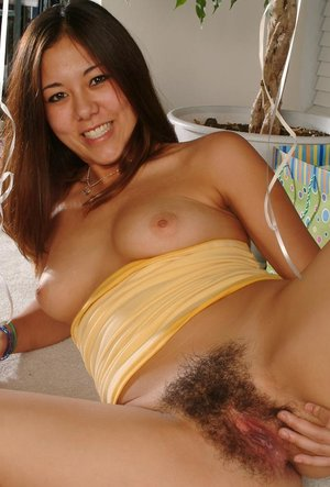 Tiffany loves to have her big tits and hairy cunt shown off on camera
