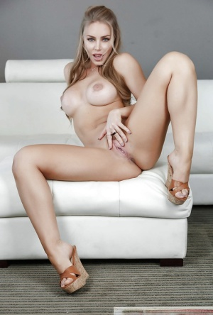 Top pornstar Nicole Aniston revealing perfect ass while stripping naked 26531354
