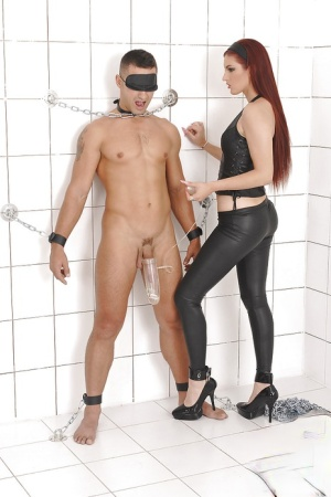 Top European BDSM action along dominating women Sophie Lynx and Mira Sunset
