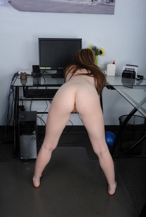 First timer takes off her black dress and underthings to display her pink twat 36380702