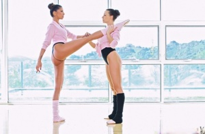 Kayla Carrera amp Chanel Preston are two stunning ballet dancers