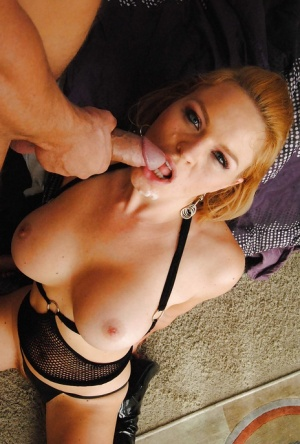 Sexy Krissy Lynn gets her asshole stretched by a toy and a hard dick