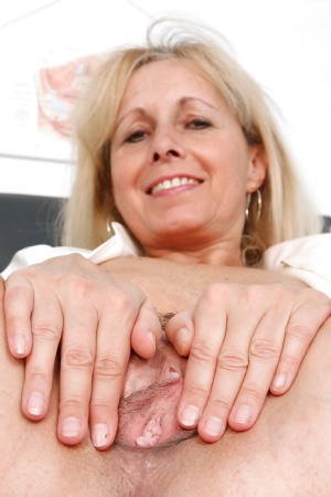 Fuckable mature nurse in stockings stripping and showcasing her cunt 65688871
