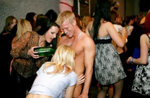 Salacious amateurs have some dirty fun at the wild drunk party
