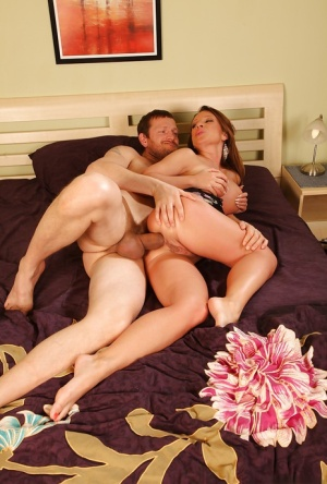 Pamela Smile gets her anal hole stuffed with a butt plug and a hard cock